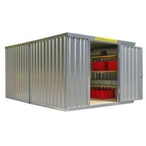 Orbis containercombinatie HxLxB 2150x4340x3050 mm 2 modules ongemonteerd verzinkt - Z10079066 - afbeelding 1