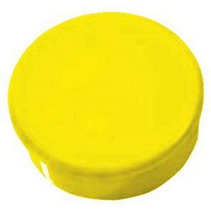 Orbis magneten diameter 38 mm geel - Z10089055 - afbeelding 1