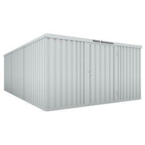 Orbis containercombinatie HxLxB 2150x6520x4050 mm 3 modules met houten vloer verzinkt gelakt voorgemonteerd afwerking RAL 7035 - Z10079165 - afbeelding 1