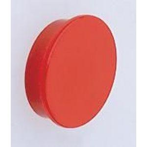 Orbis magneten voor geperforeerde platen 10-delig rond rood - Z10075264 - afbeelding 1