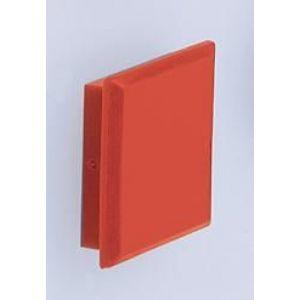 Orbis magneten voor geperforeerde platen 10-delig hoekig rood - Z10075265 - afbeelding 1