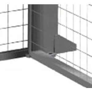 Orbis hoekverbinder voor scheidingswandsysteem met bevestigingsmateriaal - Z10080741 - afbeelding 1