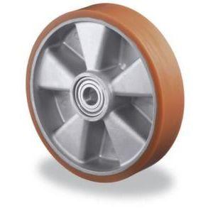 Orbis wiel PU-band aluminium velg DxB 100x40 mm draagvermogen 280 kg - Z10002636 - afbeelding 1