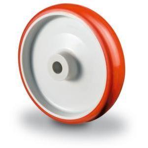 Orbis reservewiel draagvermogen 130 kg DxB 100x30 mm PU-band kunststof velg RVS-behuizing - Z10002662 - afbeelding 1