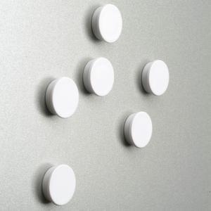Orbis magneten diameter 25 mm wit - Z10082857 - afbeelding 1