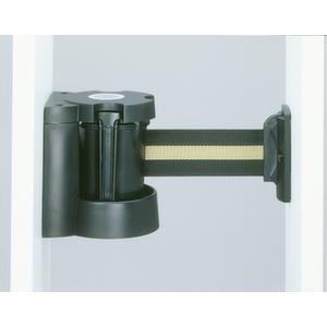 Orbis afzetband met wandhouder L 3 m ABS-kunststof HxD 130x110 mm band geel-zwart gestreept - Z10081585 - afbeelding 1