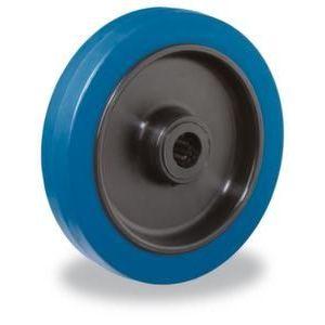 Orbis reservewiel draagvermogen 140 kg elastische banden DxB 100x26 mm kunststof velg - Z10002555 - afbeelding 1