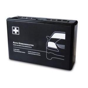 Orbis verbandkist voor in motorvoertuigen conform DIN 13164 en §35h StVZO kunststof HxBxD 180x260x85 mm zwart - Z10017616 - afbeelding 1