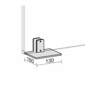 Orbis tafelvoet voor bureauwand - Z10089376 - afbeelding 1