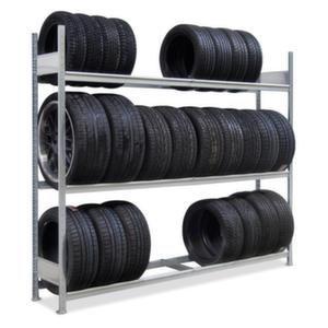 Orbis bandenstelling basis HxBxD 2000x2500x400 mm 3 etages vaklast 400 kg verzinkt - Z10093922 - afbeelding 1