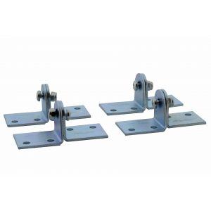 Henderson 219/4 schuifdeurbeslag Single Top-Double Top gordingbeugels set 4 stuks - A1800602 - afbeelding 1