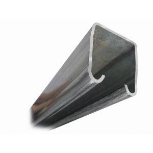 Henderson 290/2000 schuifdeurbeslag 290 bovenrail staal 2000 mm - Y20300999 - afbeelding 1