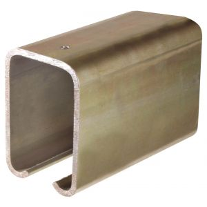 Henderson 307/1800 schuifdeurbeslag 307 bovenrail staal 1800 mm - A1800322 - afbeelding 1