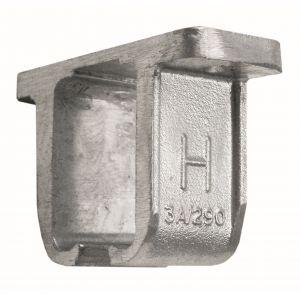 Henderson 3A/290 schuifdeurbeslag 290 plafonddrager open aluminium voor rail 290 - A1800749 - afbeelding 1
