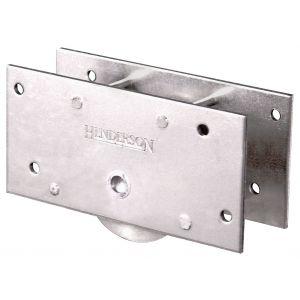 Henderson 5 schuifdeurbeslag onderrol Sterling 225 voor houten deuren - A1800804 - afbeelding 1