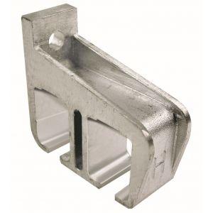 Henderson 5A/290 schuifdeurbeslag 290 wandraildrager dubbel open aluminium voor rail 290 - A1800763 - afbeelding 1