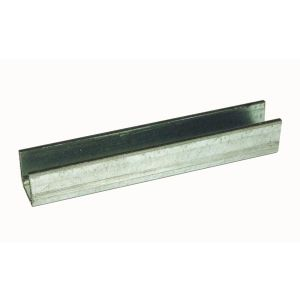 Henderson 89/2000 schuifdeurbeslag ondergeleiding U-profiel 2000 mm verzinkt staal - A1800396 - afbeelding 1