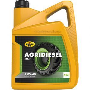 Kroon Oil Agridiesel MSP 15W-40 Agri diesel motorolie 5 L can - Y21500152 - afbeelding 1