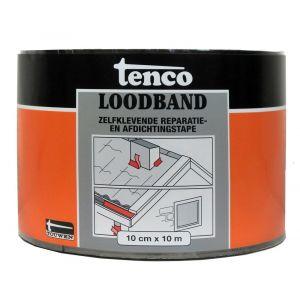 Tenco bitumen loodband zelfklevend 10 cm x 10 m zwart - Y40710001 - afbeelding 1
