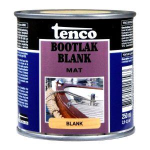 Tenco bootlak blank mat 0,25 L - A40710332 - afbeelding 1