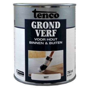 Tenco grondverf wit 0,75 L - A40710092 - afbeelding 1