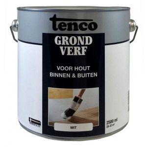 Tenco grondverf wit 2,5 L - A40710093 - afbeelding 1