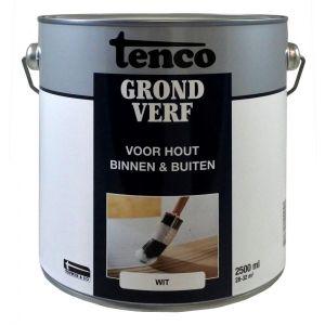 Tenco grondverf wit 2,5 L - Y40710093 - afbeelding 1