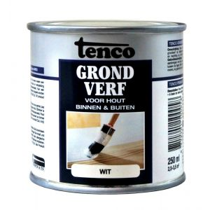 Tenco grondverf wit 0,25 L - A40710091 - afbeelding 1