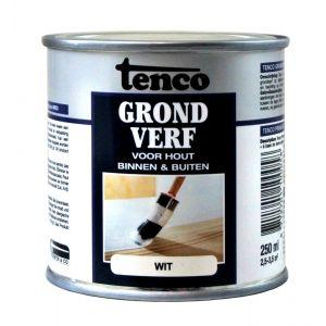 Tenco grondverf wit 0,25 L - Y40710091 - afbeelding 1
