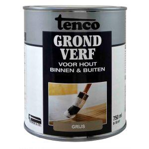 Tenco grondverf grijs 0.75 L - Y40710089 - afbeelding 1