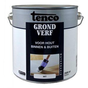 Tenco grondverf waterbasis wit 2.5 L - Y40710095 - afbeelding 1