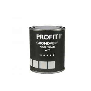 Profit grondverf waterbasis wit 0,75 L - A40710098 - afbeelding 1