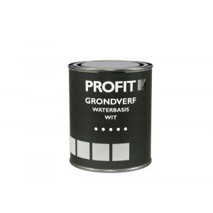 Profit grondverf waterbasis wit 0,75 L - Y40710098 - afbeelding 1