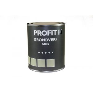 Profit grondverf grijs 0.75 L - Y40710100 - afbeelding 1