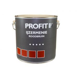 Profit ijzermenie grondverf roodbruin 2,5 L - Y40710083 - afbeelding 1