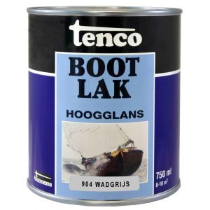 Tenco bootlak dekkend 904 Wadgrijs 0,75 L - A40710045 - afbeelding 1