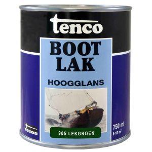 Tenco bootlak dekkend 905 Lekgroen 0,75 L - A40710046 - afbeelding 1