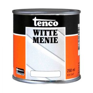 Tenco witte menie grondverf wit 0,25 L - A40710073 - afbeelding 1