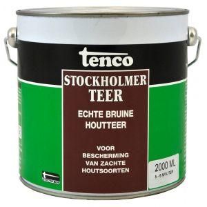 Tenco bitumen coating Stockholmer teer bruin 2 L - Y40710068 - afbeelding 1