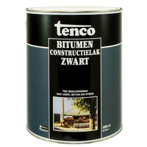 Tenco bitumen constructielak zwart 5 L - Y40710057 - afbeelding 1