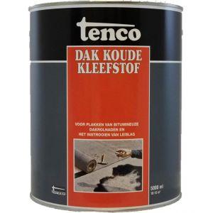 Tenco dak koude kleefstof zwart 5 L - A40710012 - afbeelding 1