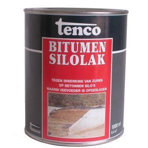 Tenco bitumen coating silolak zwart 1 L - Y40710062 - afbeelding 1