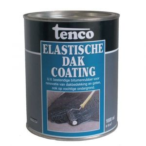 Tenco elastische dakcoating zwart 1 L - A40710008 - afbeelding 1