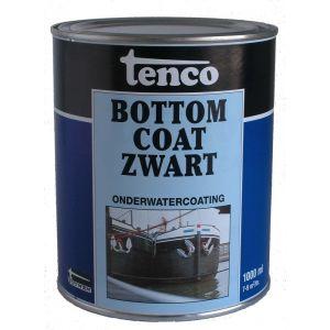 Tenco onderwatercoating Bottomcoat teervrij zwart 1 L - A40710023 - afbeelding 1