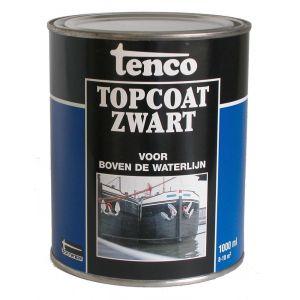 Tenco roestwerende coating Topcoat teervrij zwart 1 L - A40710034 - afbeelding 1