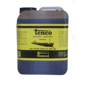 Tenco roestwerende coating Anti Rust Compound vloeibaar donkerbruin 5 L - Y40710031 - afbeelding 1