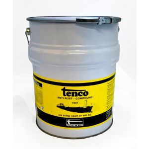 Tenco roestwerende coating Anti Rust Compound vast donkerbruin 10 L - Y40710029 - afbeelding 1