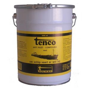 Tenco roestwerende coating Anti Rust Compound vast donkerbruin 5 L - Y40710028 - afbeelding 1