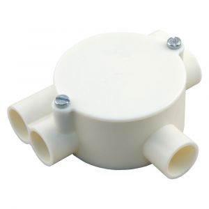 Attema lasdoos Top-T-trekdoos 2x rechts, 2x links diameter 5/8 inch crème - A50401109 - afbeelding 1