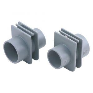 Pipelife buisinvoerstuk flexbox 16/19 mm grijs set 3 stuks - A50401115 - afbeelding 1